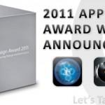 2011 Apple Design Award Winners
