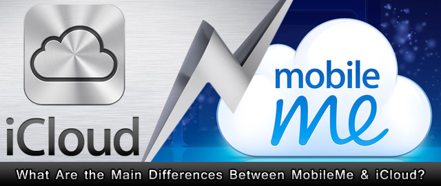 Difference between MobileMe and iCloud