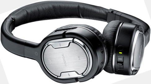 Nokia BH 905 wireless headphones for iPad