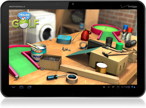3D Android Game House of Golf