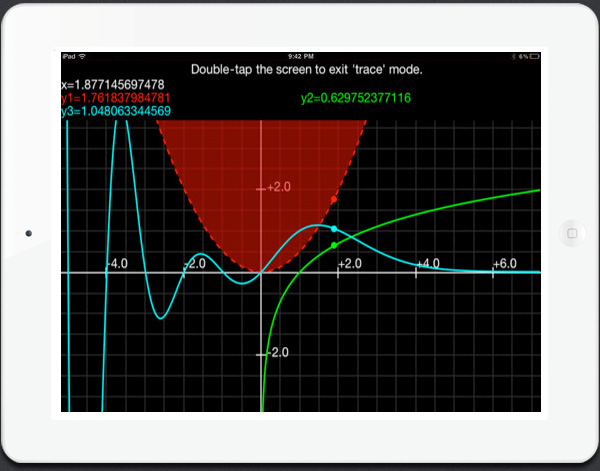 Graphing Calculator app for iPad
