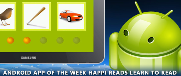 Happi Reads Learn to Read Android app