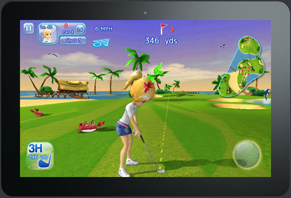 Let's Golf! 3 HD new game for Android tablets