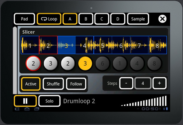 SPE Music Sketchboard featured app for Android tablets