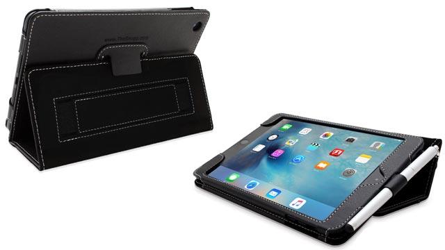 12.9 inch iPad Pro Snugg Nubuck Fiber Flip Stand Case