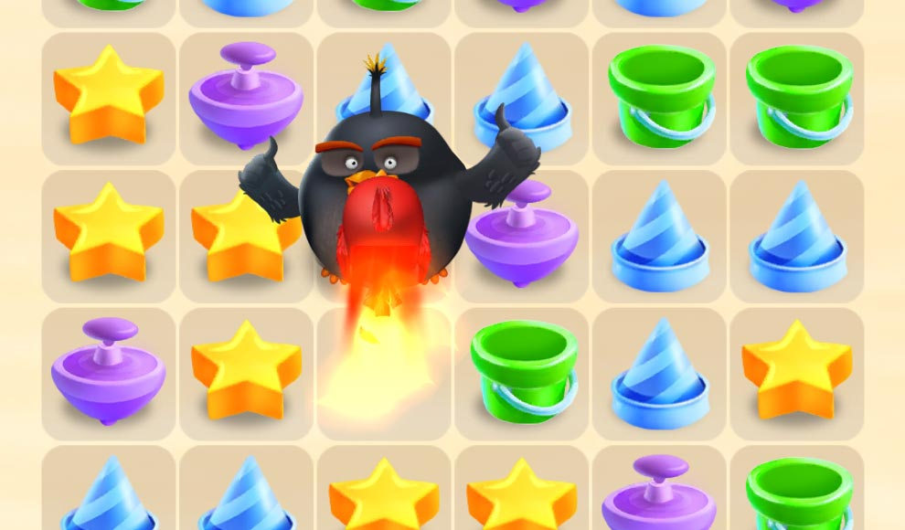 Angry Birds Match Android app screenshot