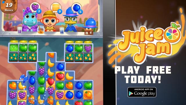 Juice Jam match 3 Android game