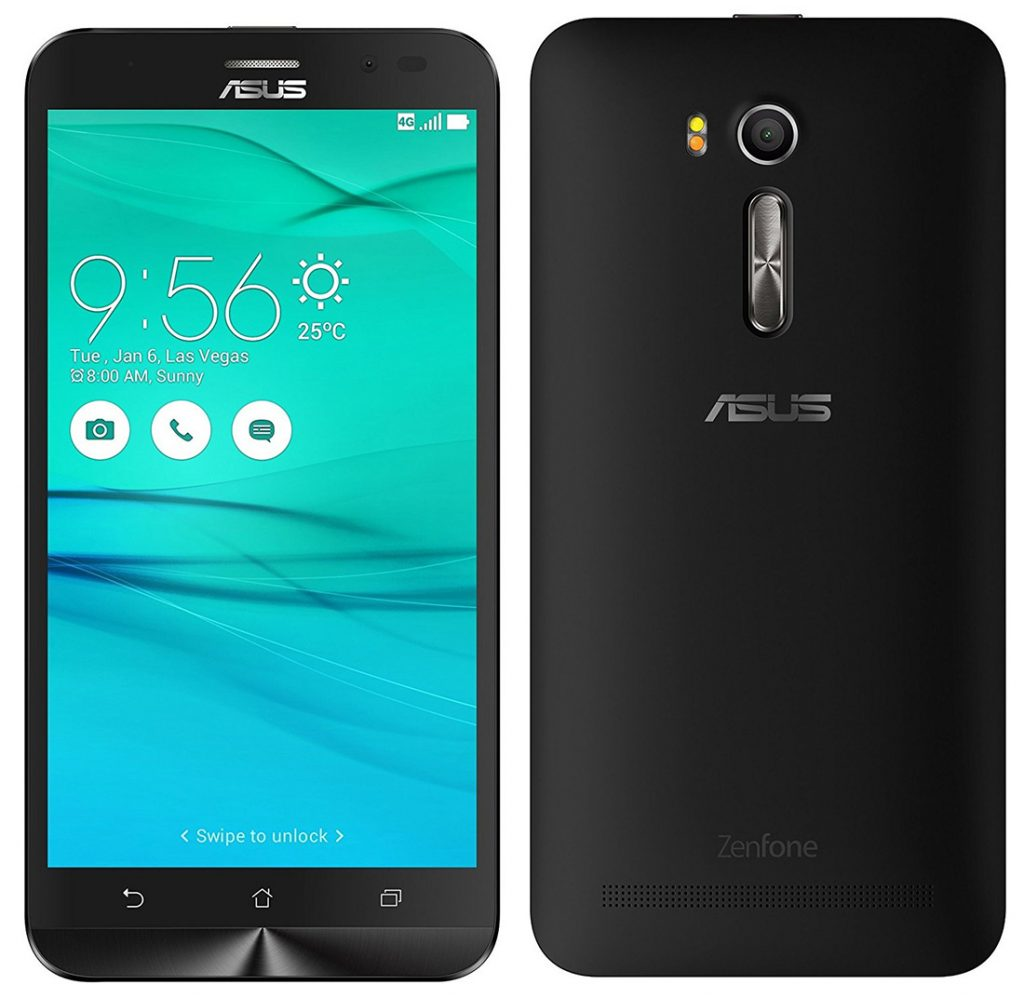 ASUS ZenFone Go front and back view