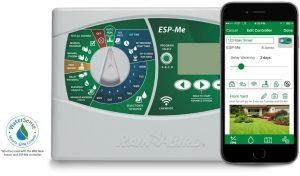 ESP-Me water sprinkler system and mobile app