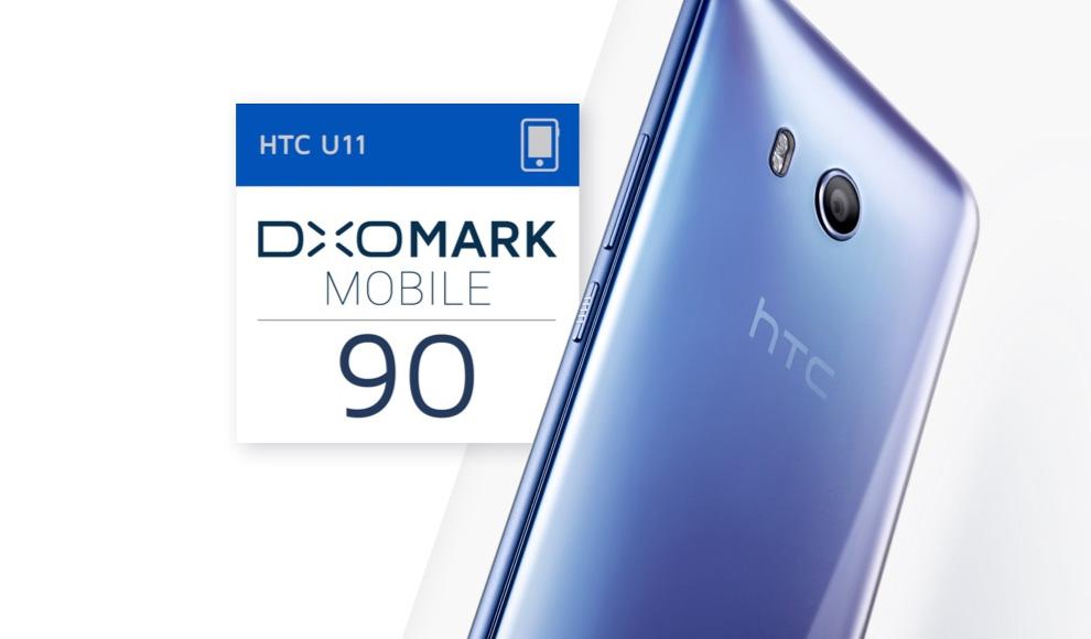 HTC U11 scores highest camera rating DxOMark