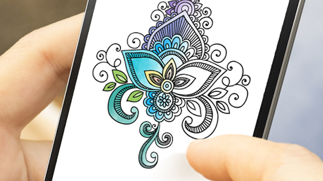 7 Fun Android Colouring Apps For Adults To Help Reduce Stress