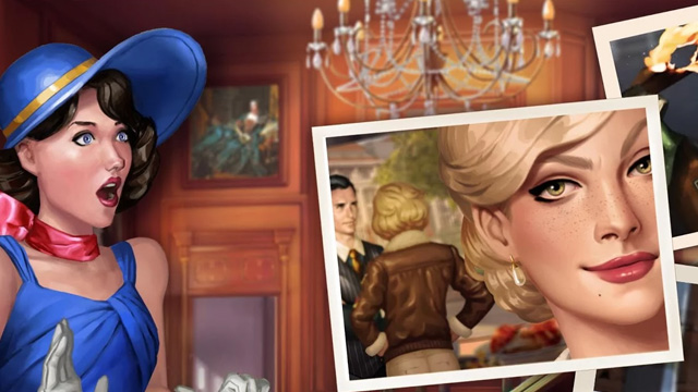 Pearl's Peril Android hidden object game