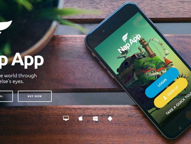 best WordPress themes for promoting mobile apps 2017