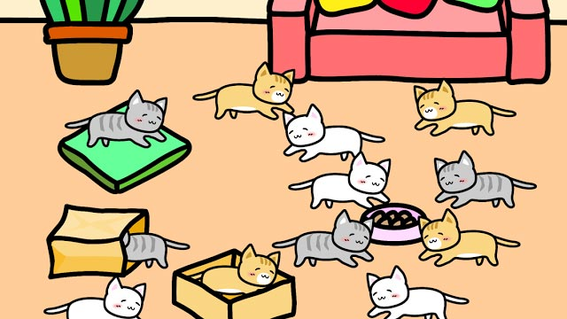 Play with Cats game for Android