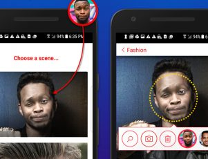Microsoft Face Swap Android app