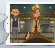 Layton's Mystery Journey Katrielle and the Millionaires' Conspiricy iOS puzzle game