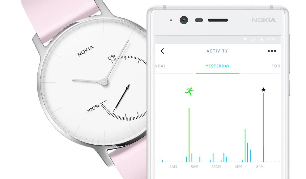 Nokia Steel Watch And Health Mate App