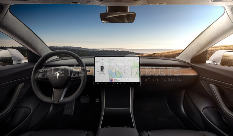 Tesla Infotainment Tablet