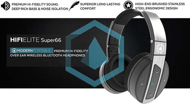 big sale on HIFIELITE Super66 premium Bluetooth headphones