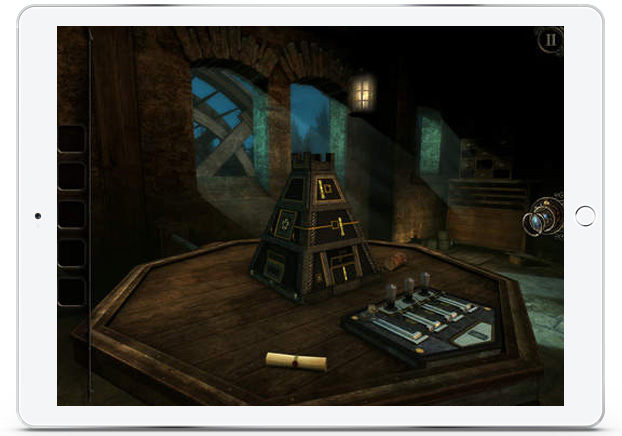 The Room 3 screenshot on iPad