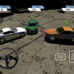 Crazy Stunt Car Destruction Derby iPad game screenshot 4