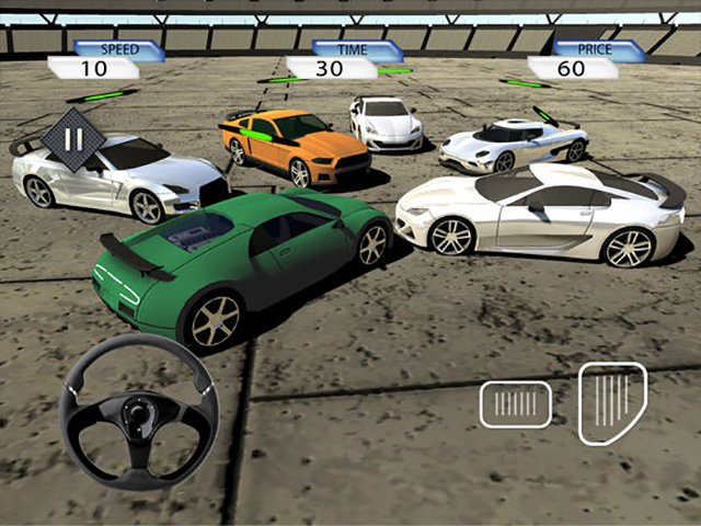 Crazy Stunt Car Destruction Derby iPad game screenshot 5
