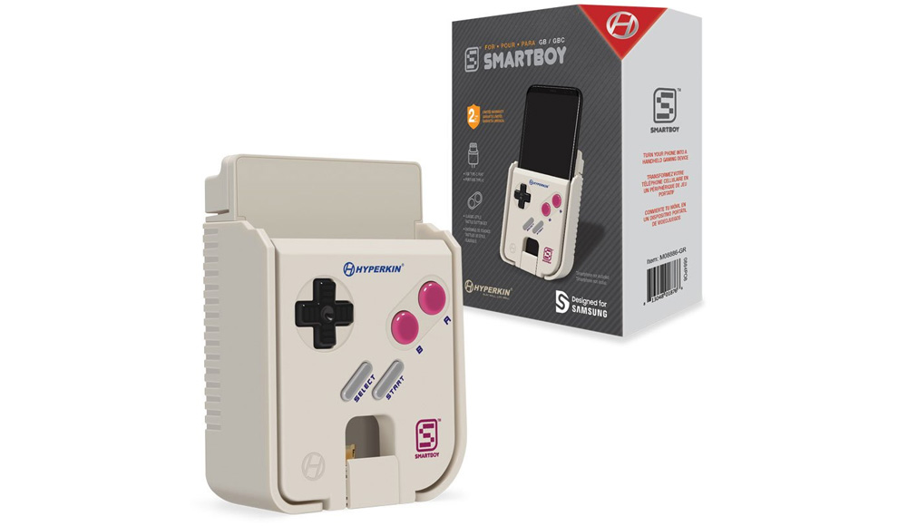 Hyperkin SmartBoy Game Boy Accessory For Android Coming Soon - Hyperkin smartphone gameboy