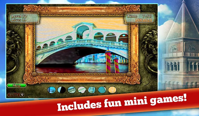 Mahjong Venice Mystery Puzzle game for iOS