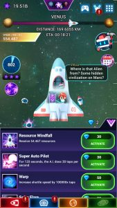 Star Tap Android game gem advancements