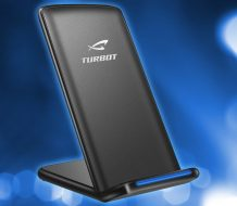 TURBOT QI Wireless Charging Stand for smartphones