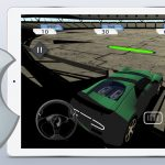 new iOS game Crazy Stunt Car Destruction Derby