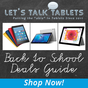 Tablet PC and mobile accessories back to school deals guide