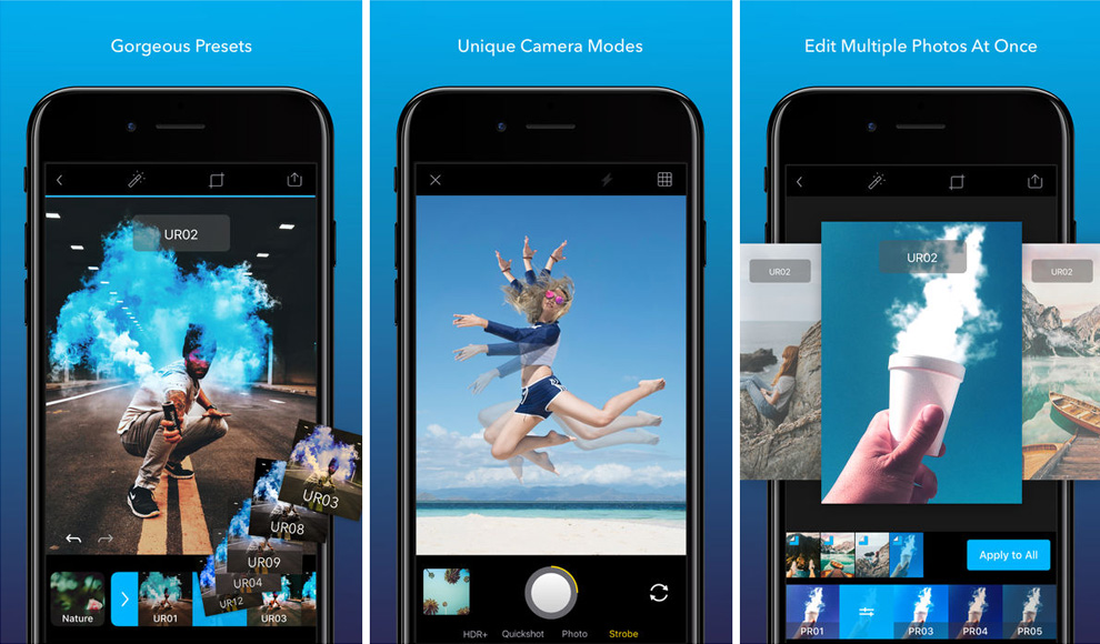 Enlight Quickshot featured camera app for iPhone