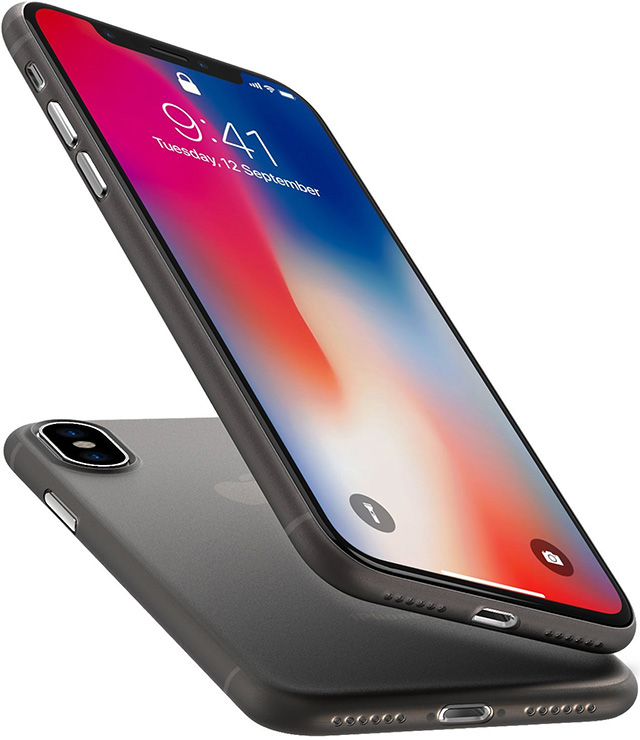 TOZO Thin Protective Case for iPhone X