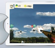 Mad Ducks AR augmented reality game for iOS