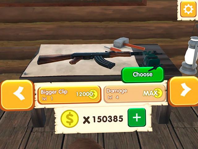Mad Ducks AR iOS game screenshot