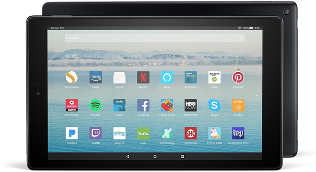 Amazon Fire HD 10 flagship tablet