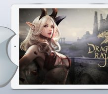 Dragon Raja ARPG iOS mobile game