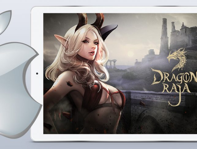 Dragon Raja ARPG iOS mobile game