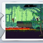 Featured iOS App of the Week Ninja Scroller The Awakening mobile game