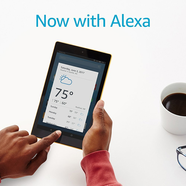 Fire HD 8 with Alexa
