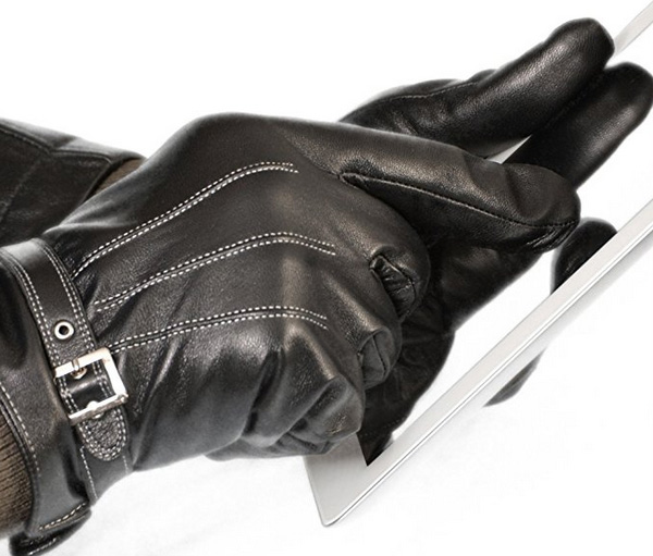 Leather Vetelli Winter Gloves for Touchscreen Devices