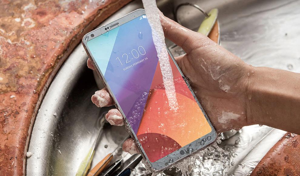 LG G6 Plus waterproof Android smartphone