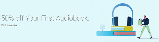 Big deals audiobooks Google Play