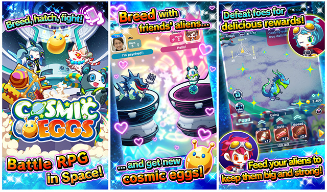 Cosmic Eggs iOS game