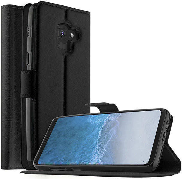 KuGi Galaxy S9 Plus Premium PU Leather Wallet Case