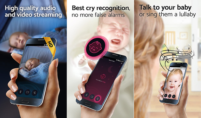 BabyCam Android app Wifi or 3G
