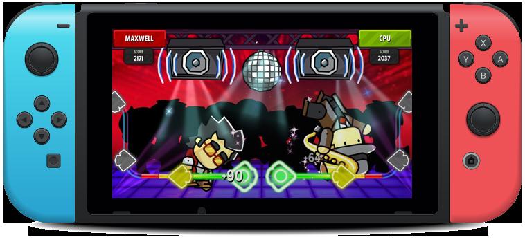Scribblenauts Showdown game screenshot Nintendo Switch